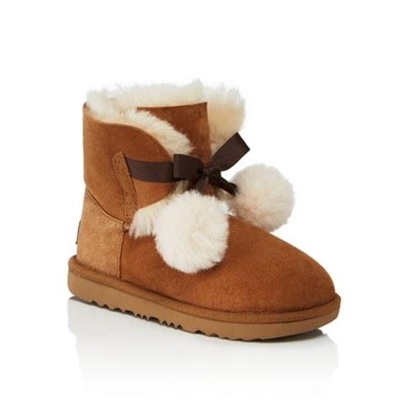 45d5a17e765 Ugg Girls' Gita Pom-Pom Boots 3